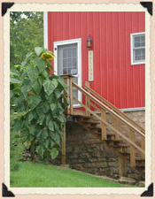 Barn on the Bluff is the perfect lodging venue for groups