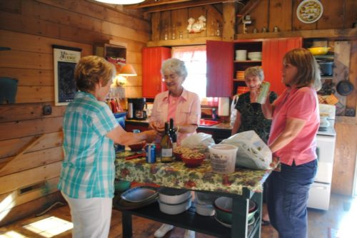 Groups prepare additional meals